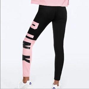 VS Pink Color Block Leggings